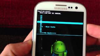 How To Do A Wipe Data Factory Reset & Wipe Cache In