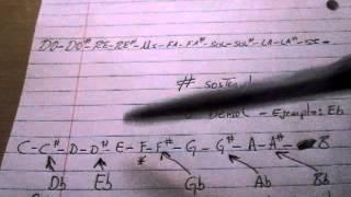 Acordeon De Botones Teoria De Sostenidos Y Bemoles Clases