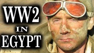 Fight For Egypt WW2 Battle Scenes Combat Footage