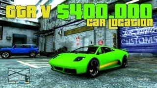 GTA V Secret Car LOCATION Zonda! $440,000.00 CAR