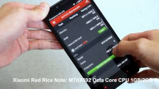 Xiaomi Red Rice Note Hongmi Red Mi Note Hands On