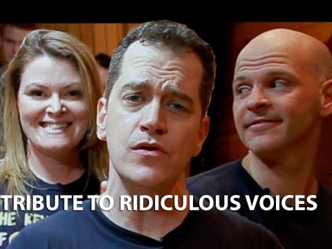 Tribute to Ridiculous Voices!! Key of Awesome #70