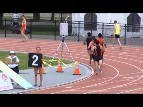 1500m men - Ontario Junior Outdoor Track & Field Championships Ottawa