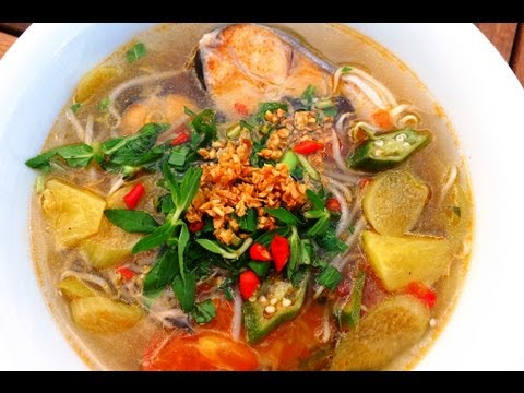 Canh Chua Cá - Vietnamese Sweet & Sour Fish Soup