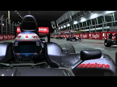 Ночные заезды в F1 2010
