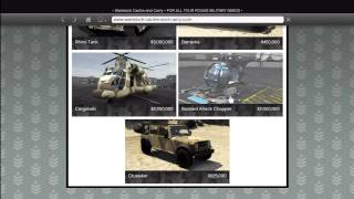 GTA 5: How To Buy All Warstock Army Military Vehicles