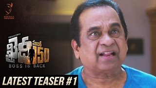 Khaidi No 150 Latest Teaser #1