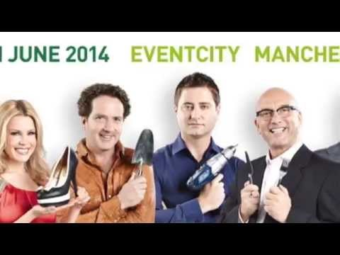 Orderly Office & Home at Ideal Home Show Manchester, June '14