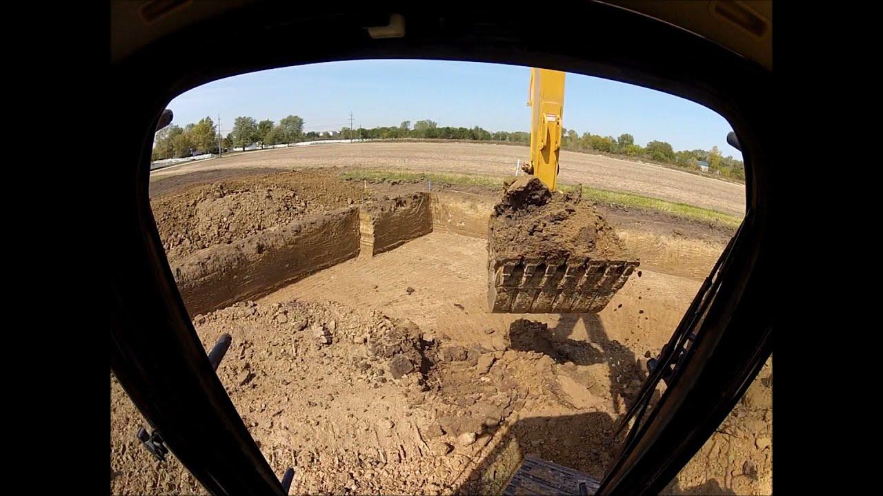 basement excavation youtube