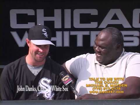 JOHN DANKS, CHICAGO WHITE SOX & COACH MAYDEN