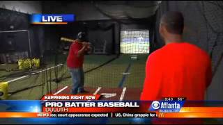 ProBatter at Hitter's Box in Atlanta (CBS) - November 2013
