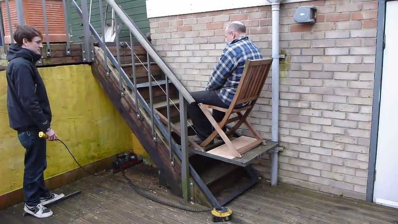 Diy Granny Stair Lift Youtube