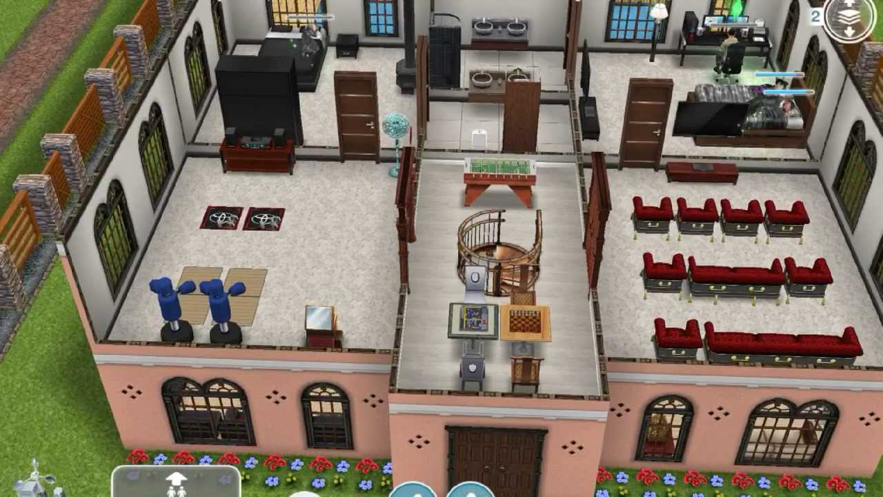Sims Freeplay Player Designed House