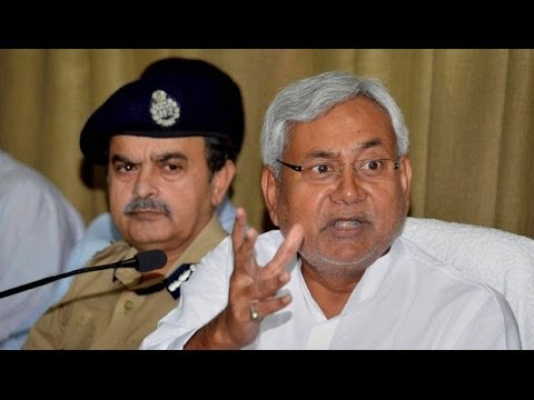Bihar Chief Minister Nitish Kumar takes direct aim at Narendra Modi