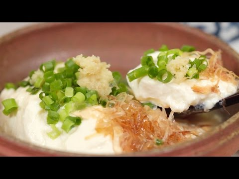 How to Make Homemade Extra-Smooth Silken Tofu 滑らか豆腐 作り方 レシピ