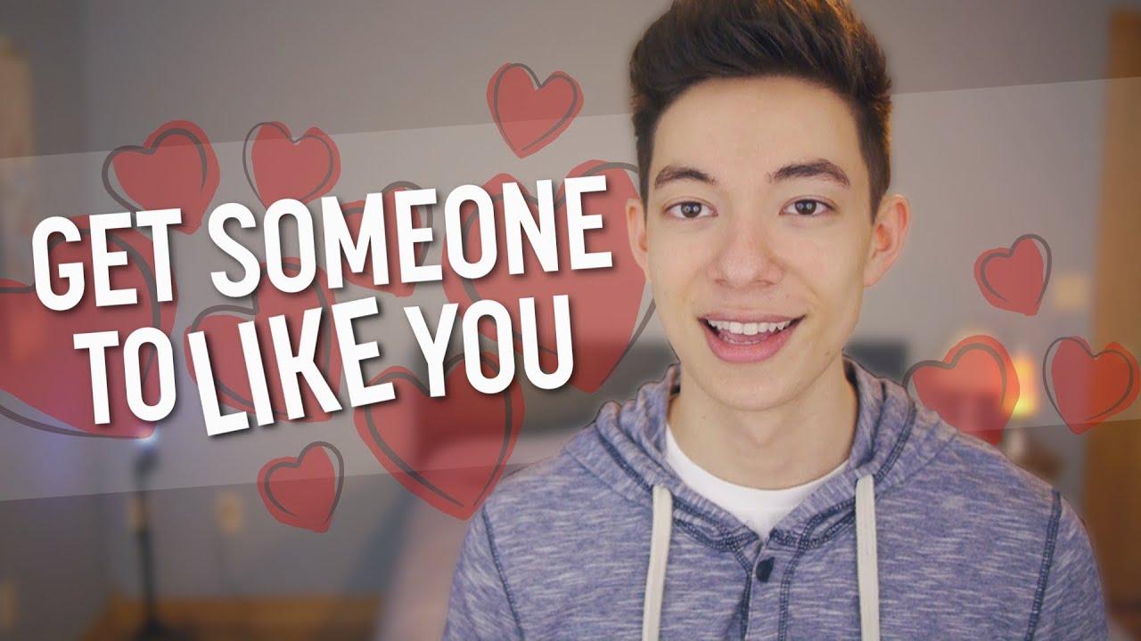 How to like someone