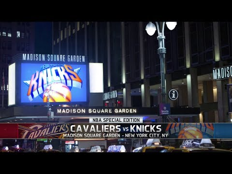 NBA LIVE 14 - PS4 Gameplay: Cavaliers vs Knicks (Full) [1080p HD]