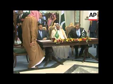 Saudi Arabia's King Abdullah visits