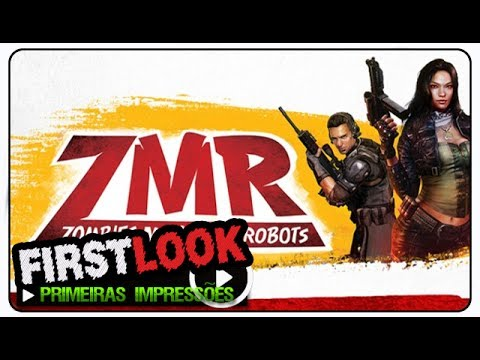 Zombies Monsters Robots (ZMR) gameplay - First Look / Primeiras Impressões