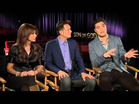 SON OF GOD Interviews: Roma Downey, Mark Burnett, Diogo Morgado