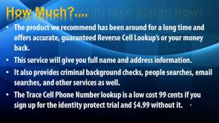 Trace Cell Phone Numbers Free Trace Cell Phone Get