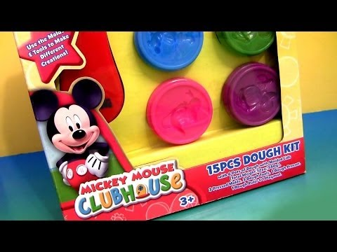 Play Doh A Casa Do Mickey Mouse Play Dough Kit Disney Junior Mickey Mouse Clubhouse 15 Jogos