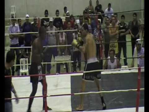 CTI - Indaiatuba - Mauro Cromado - 1° Luta no Combat Fight (1/2)