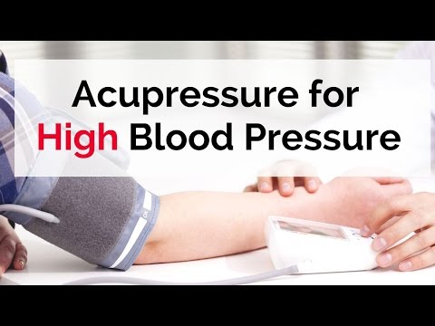 Acupressure Points for High Blood Pressure - Massage Monday #305