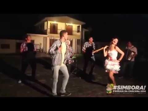 Brenda Oliveira, Alcemir Freitas e Banda Tome Xote. Video oficial do Arraiá da Chácara do Céu.