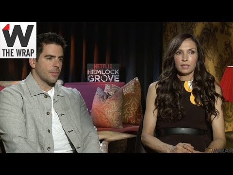 'Hemlock Grove' Executive Producer Eli Roth and Star Famke Janssen
