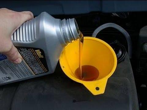 Замена моторного масла в двигателе 2ZZ-GE
