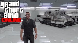 GTA 5 Online: How To Get/Save A Chrome Tank In Your Garage