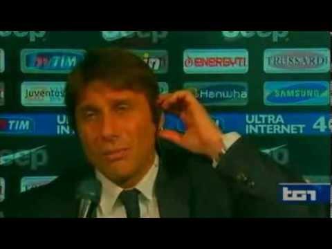 Antonio Conte has harsh words for Fabio Capello, English subtitles