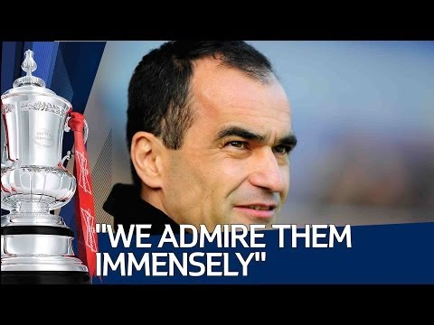 """WE ADMIRE THEM IMMENSELY"": Roberto Martinez looks ahead to Arsenal vs Everton"