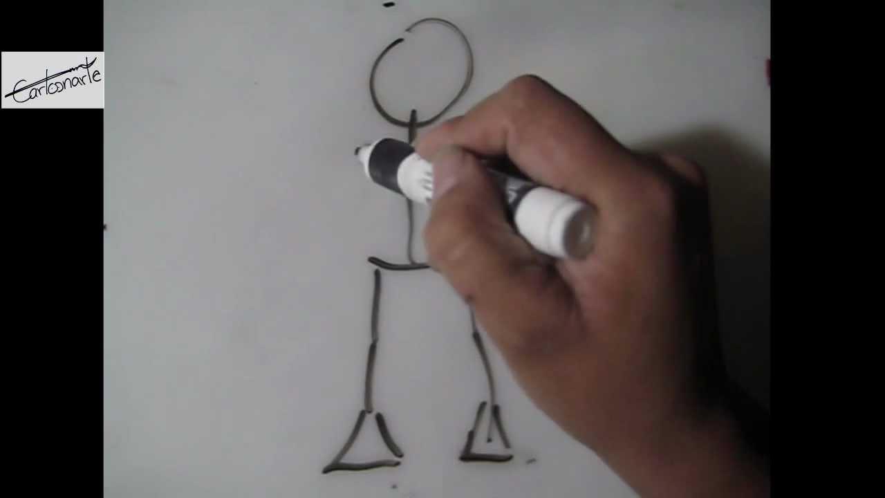 Dibujar Caricatura Improvisada 2