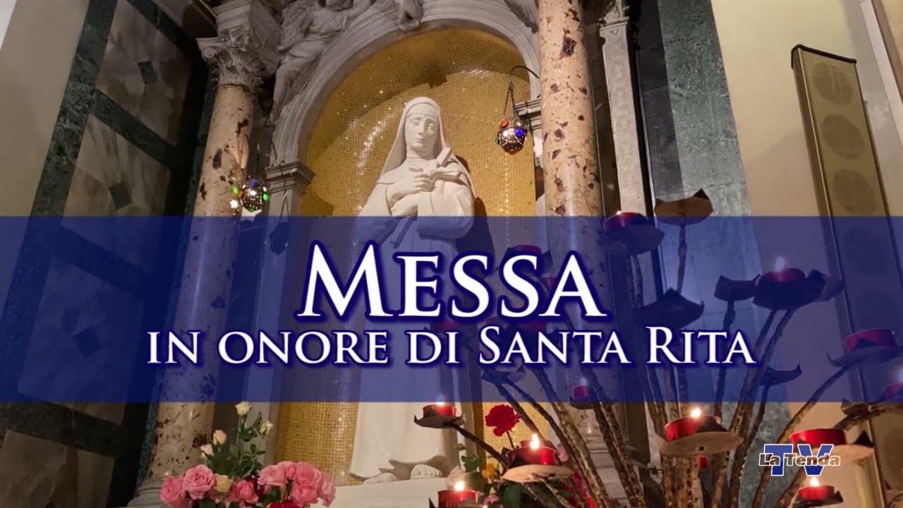 Messa in onore di Santa Rita