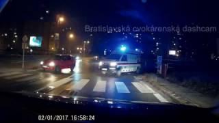 Sanitkár vs. bratislavský vodič