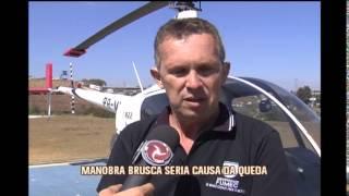 Manobra brusca seria causa de queda de helic�ptero no Lago de Furnas