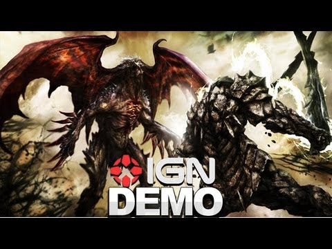 Soul Sacrifice E3 2012 Demo - IGN Live