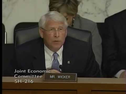 Wicker Questions Federal Reserve Chairwoman Janet Yellen