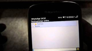 Whatsapp For BlackBerry Smartphone