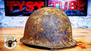 1957 Army Helmet Restoration