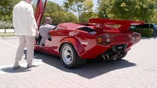 Lamborghini Countach Reverse Lesson w/Chris Harris -- /DRIVE on NBC Sports. Drive Youtube Channel.