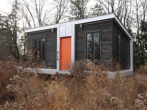 This Modern 227 Square Foot Charles Eames style tiny house
