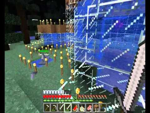 Minecraft - Mo' Creatures - Ep. 12 - Criação de Tubarões e Cavalos raros !!