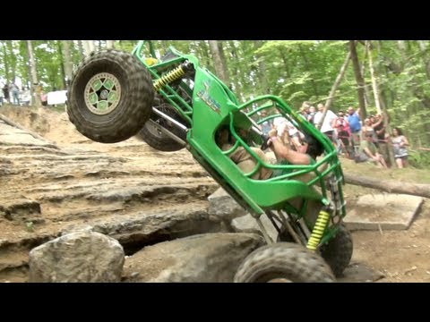 ROCK BOUNCERS SHOW OUT ON AXLE HILL  1ST RUN SOUTHERN ROCK RACING SERIES