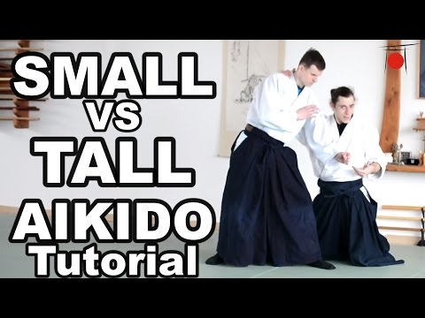 Aikido How To: Do Aikido With Bigger People
