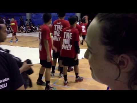 Steph Durham post game Interview In Indonesia. Gold Coast v Yogjakarta University Team.