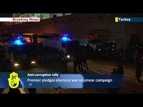 Fresh protests in Turkey over corruption scandal: PM Erdogan facing mounting calls to resign