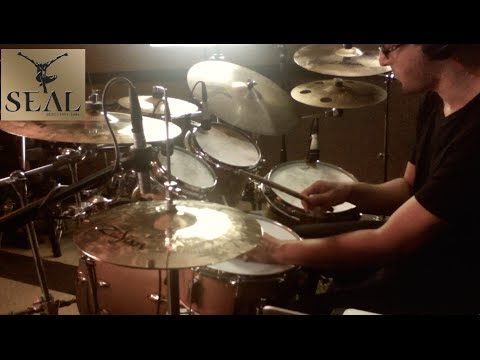 Seal - Kiss from a Rose - Drum Cover by Leandro Caldeira